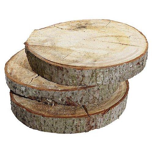 deko woerner holzscheibe 40cm 5cm dick natur gebraucht kaufen silver disc. Black Bedroom Furniture Sets. Home Design Ideas