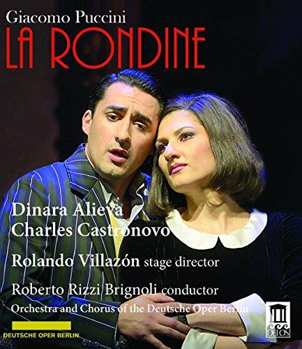 Puccini , Giacomo - La Rondine (Alieva, Castronovo, Villazon, Brignoli) (Blu-ray)