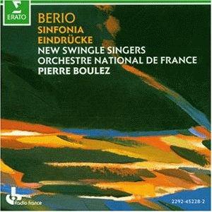 Berio , Luciano - Sinfonia / Eindrücke (Boulez)