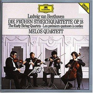 Beethoven , Ludwig van - Die frühen Streichquartette, Op. 18 (Melos Quartett)