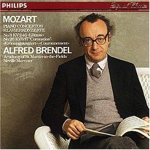 Mozart , Wolfgang Amadeus - Piano Concertos No. 8, KV 246 'Lützow' & No. 26, KV 537 'Coronation' (Brendel, Marriner)