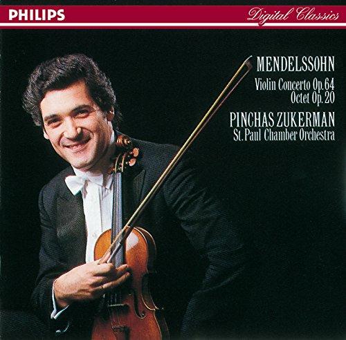 St.Paul Chamber Orc Zukerman - Violinkonzert E-Moll/Oktett