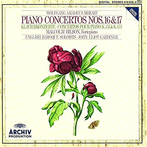 Mozart , Wolfgang Amadeus - Piano Concertos Nos. 16&17; (Bilson, Gardiner)