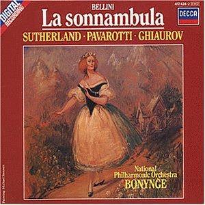 Bellini , Vincenzo - La Sonnambula (Pavarotti, Sutherland, Bonynge)