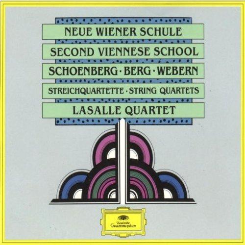 Lasalle Quartet - Neue Wiener Schule - Schönberg, Berg, Webern: Streichquartette