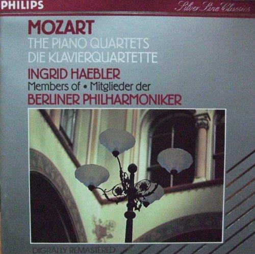 Mozart , Wolfgang Amadeus - The Piano Quartets / Die Klavierquartette (Haebler, BP)