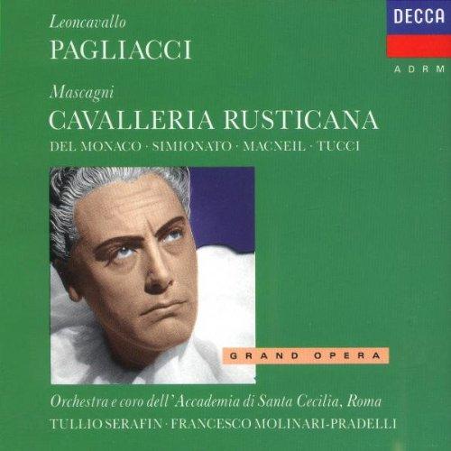 Leoncavallo , Ruggero / Mascagni , Pietro - Pagliacci / Cavalleria Rusticana (Molinari-Pradelli / Serafin)