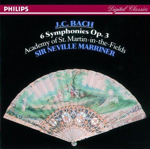 Bach , Johann Sebastian - 6 Symphonies, Op. 3 (Marriner, Academy Of St. Martin-In-The-Fields)