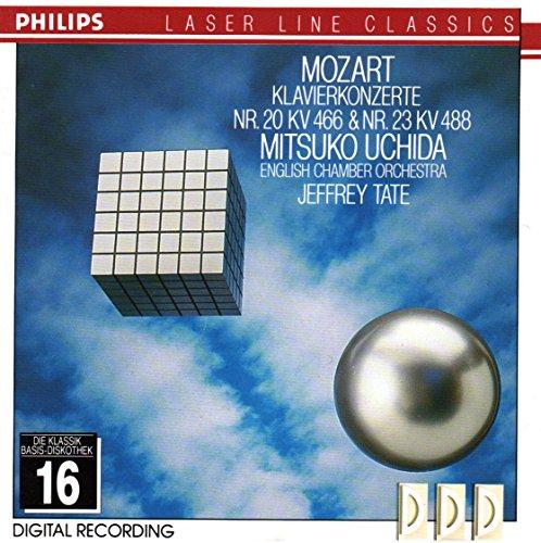 Mozart , Wolfgang Amadeus - Klavierkonzerte Nr. 20 & 23 (Uchida, Tate)