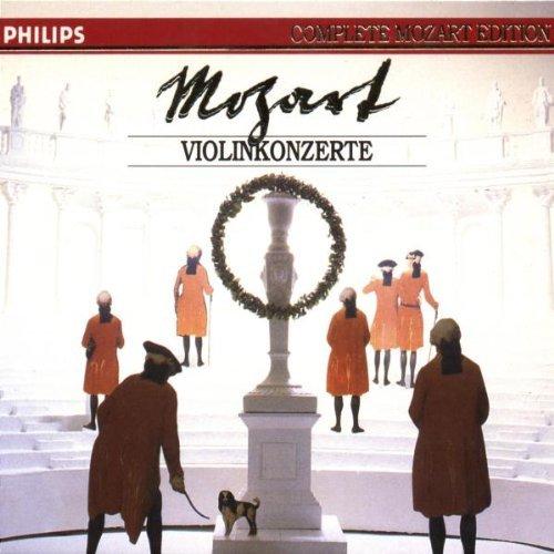 Mozart , Wolfgang Amadeus - Violinkonzerte (Complete Mozart Edition 8)