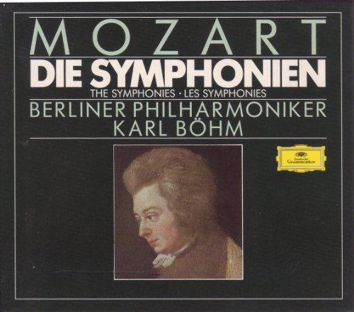 Mozart , Wolfgang Amadeus - Die Symphonien (1- 41) (GA) (Böhm, BP) (12-CD SET)