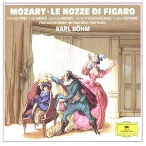 Mozart , Wolfgang Amadeus - Le Nozze Di Figaro (Prey, Janowitz, Fischer-Dieskau, Böhm)