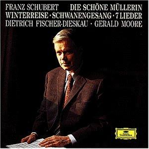Schubert , Franz - Die schöne Müllerin / Winterreise / Schwanengesang / 7 Lieder (Fischer-Dieskau, Moore)