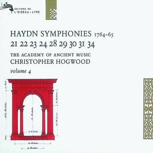 Haydn , Joseph - The Symphonies 4 - Nos. 21, 22, 23, 24, 28, 29, 30, 31 & 34 (Hogwood)