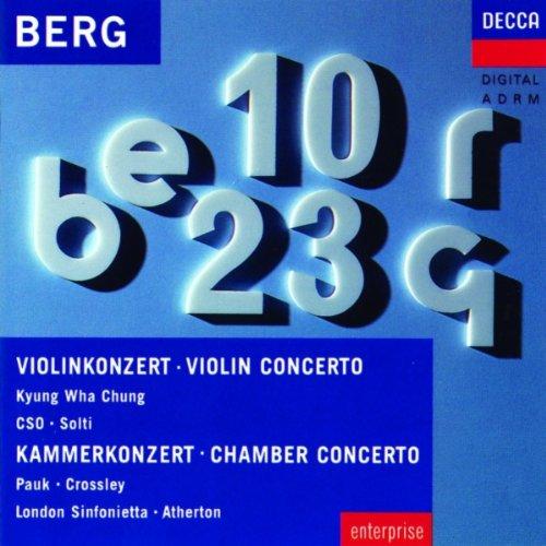 Berg , Alban - Violin Concerto / Chamber Concerto