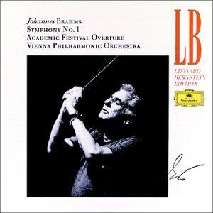 Brahms , Johannes - Symphony No. 1 / Akademische Festouvertüre (Bernstein)