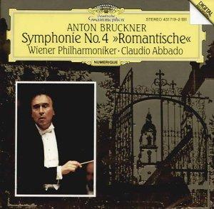 Bruckner , Anton - Syphonie No. 4 'Romantische' (Wiener Philharmoniker, Abbado)