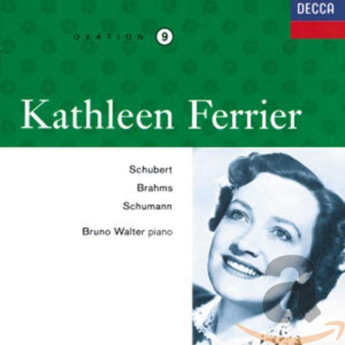Ferrier , Kathleen - Schubert Brahms Schumann (Walter)