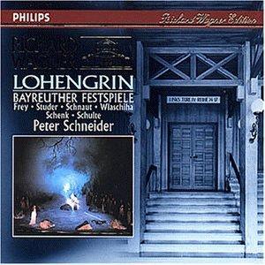 Wagner , Richard - Lohengrin (Bayreuther Festspiele) (Frey / Studer / Schnaut / Wlaschiha / Schenk / Schulte / Schneider)