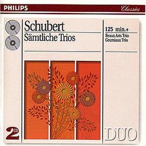 Schubert , Franz - Sämtliche Trios (Beaux Arts Trio, Grumiaux Trio)