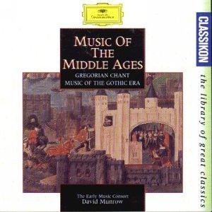 Sampler - Musik des Mittelalters: Gregorianischer Choral, Musik der Gotik