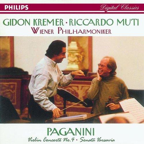 Kremer , Gidon & Muti , Riccardo & Wiener Philharmoniker - Paganini: Violin Concerto No. 4 / Sonata Varsovia
