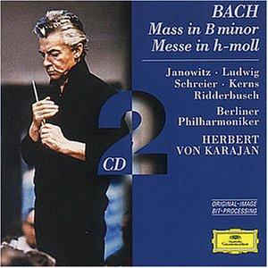Bach , Johann Sebastian - Mass in B minor BWV 232 (Karajan, Janowitz)