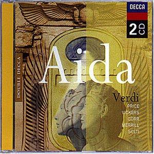 Verdi , Giuseppe - Aida (Price, Vickers, Gorr, Merrill, Solti)