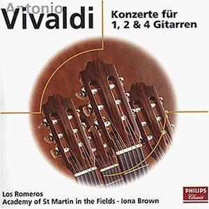 Vivaldi , Antonio - Konzerte für 1, 2 & 4 Gitarren (Los Romeros)