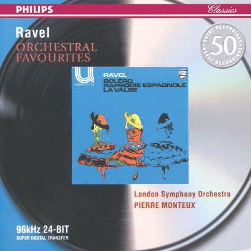 Ravel , Maurice - Bolero / Rapsodie Espagnole / La Valse - Orchestral Favourites (LSO, Monteux) (Remastered)