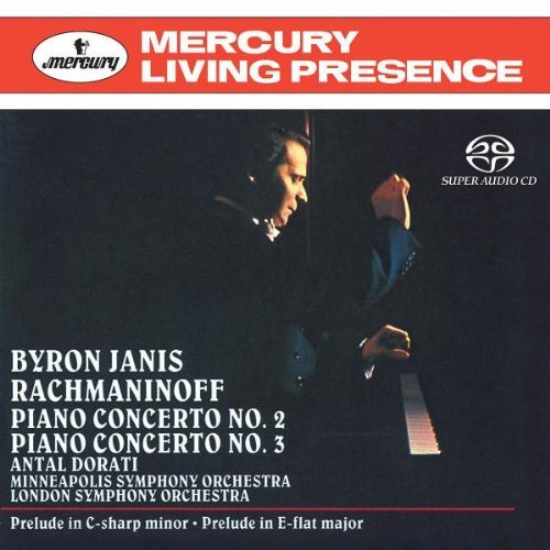 Rachmaninoff , Sergei - Piano Concertos Nos. 2 & 3 (Byron Janis)