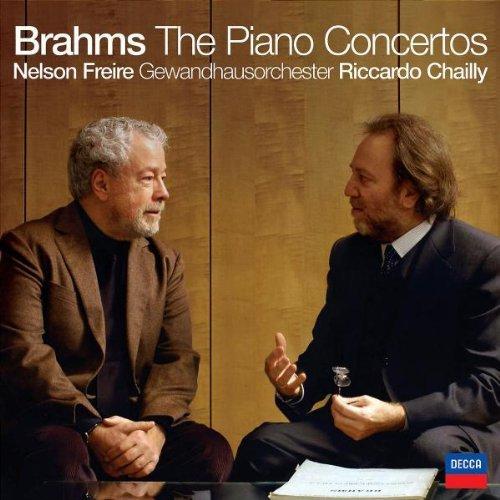 Brahms , Johannes - The Piano Concertos (Freire - Piano, Gewandhausorchester, Chailly)