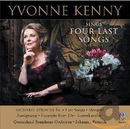 Kenny , Yvonne - Sings Strauss: Four Last Songs / Morgen! / Zuneigung / Excerpts From 'Der Rosenkavalier' (QSO, Fritzsch)