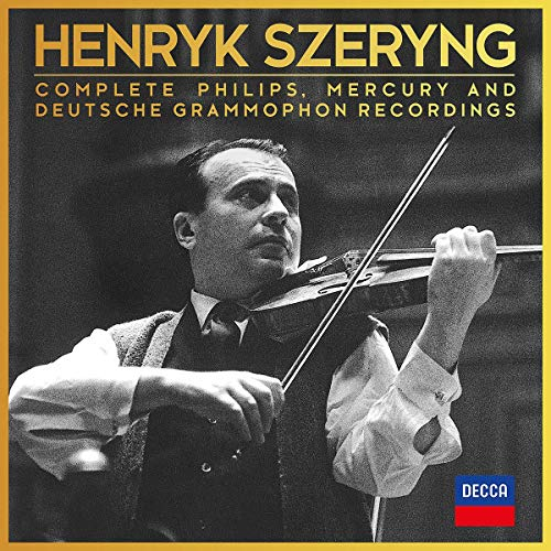 Szeryng , Henryk - Complete Philips, Mercury And Deutsche Grammophon Recordings (44-CD BOX SET) (Limited Edition)