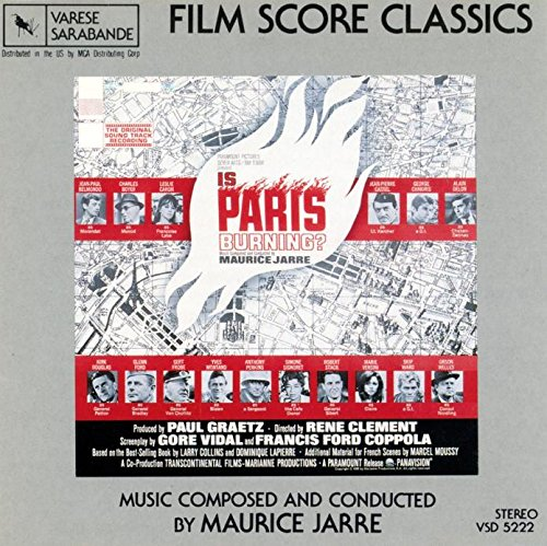 Jarre , Maurice - Is Paris Burning