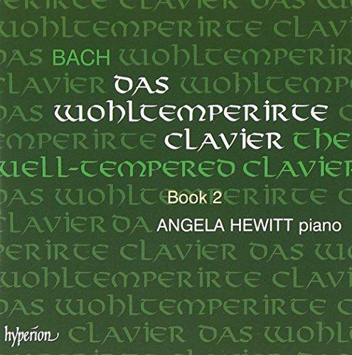 Bach , Johann Sebastian - Das wohltemperirte Clavier, Book 2 (Angela Hewitt)