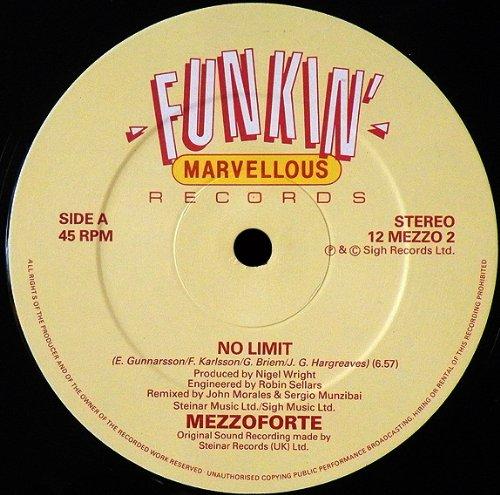 Mezzoforte - No Limits (Vinyl)