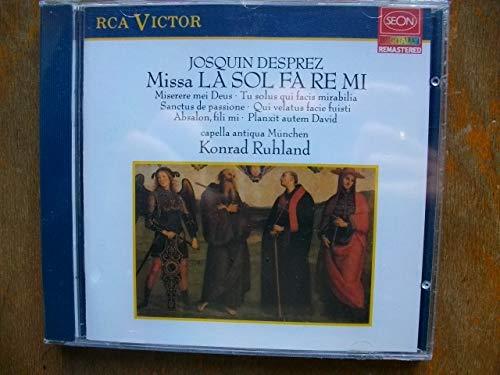 Desprez , Josquin - Missa La Sol Fa Re Mi (Ruhland)
