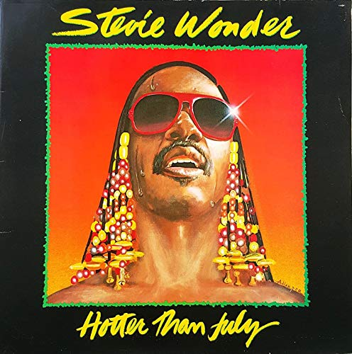 Stevie Wonder - Hotter than July (1980) [Vinyl LP]