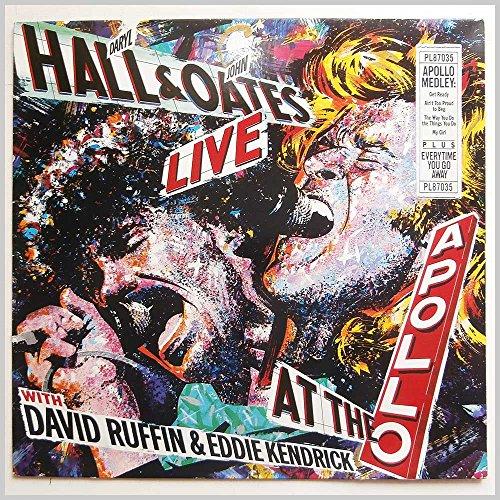 Hall , Daryl & Oates , John - Live At The Apollo (With David Ruffin & Eddie Kendrick) (Vinyl)