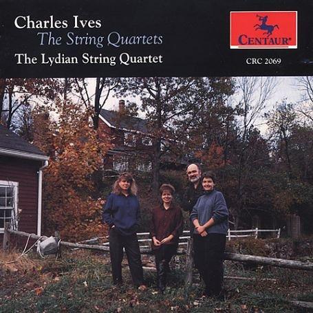 Ives , Charles: String Quartets , The - o. Titel