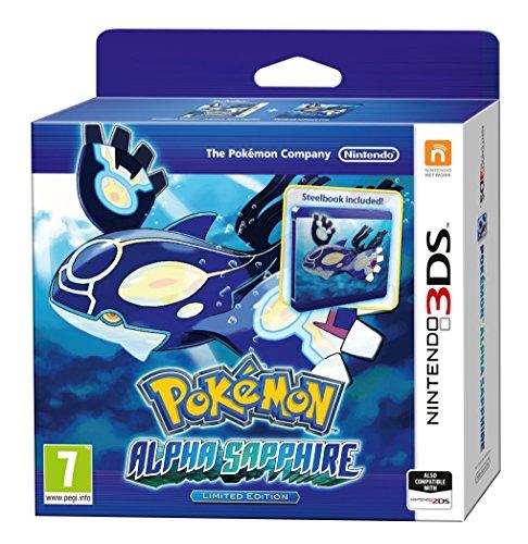 Nintendo 3DS - Pokemon Alpha Saphir (Steelbook)
