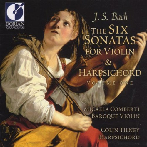 Bach , Johann Sebastian - The Six Sonatas For Violin & Harpsichord 1 (Comberti, Tilney)