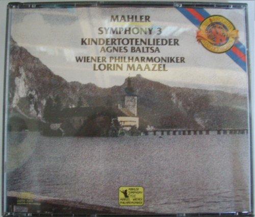 Mahler , Gustav - Symphony 3 / Kindertotenlieder (Maazel, Baltsa)
