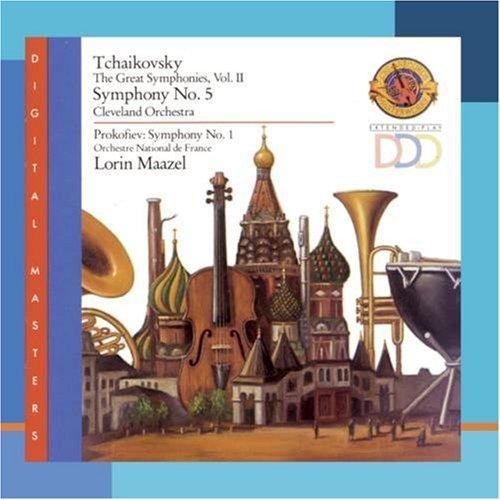 Tchaikovsky / Prokofiev - Symphony No. 5 / Symphony No. 1 (Maazel)