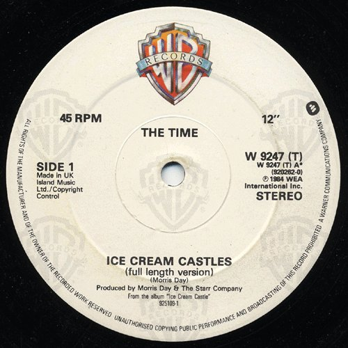 Time , The - Ice Cream Castle (Vinyl)