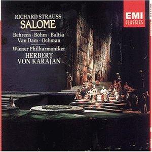 Strauss , Richard - Salome (GA) (Behrens, Böhm, Baltsa, Van Dam, Ochman, Karajan)