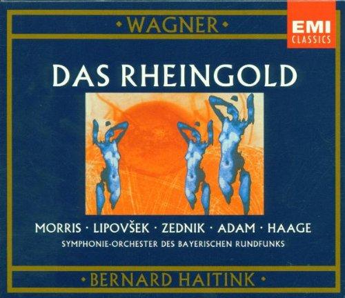 Wagner , Richard - Das Rheingold (GA) (Morris, Lipovsek, Zednik, Adam, Haage, Haitink)