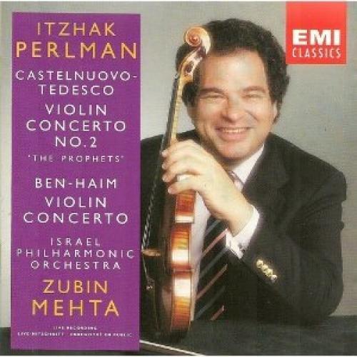 Perlman , Itzhak - Ben-Haim: Violinkonzert / Castelnuovo-Tedesco: Violinkonzert 2 (Mehta) (UK-Import)