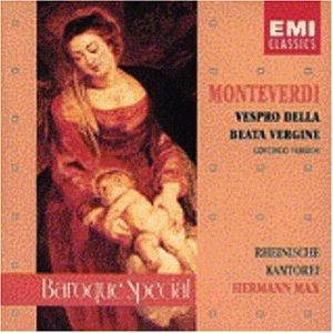 Monteverdi , Claudio - Vespro Della Beata Vergine